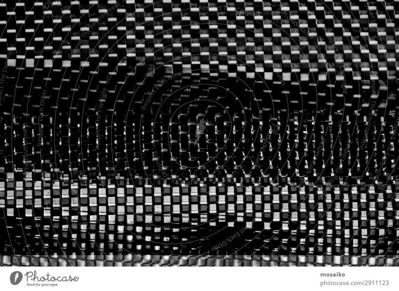 schwarz weiß Muster - abstrakt Freude dunkel Lifestyle Bewegung Feste & Feiern Stil Kunst Design Zufriedenheit hell Kommunizieren elegant Perspektive Papier