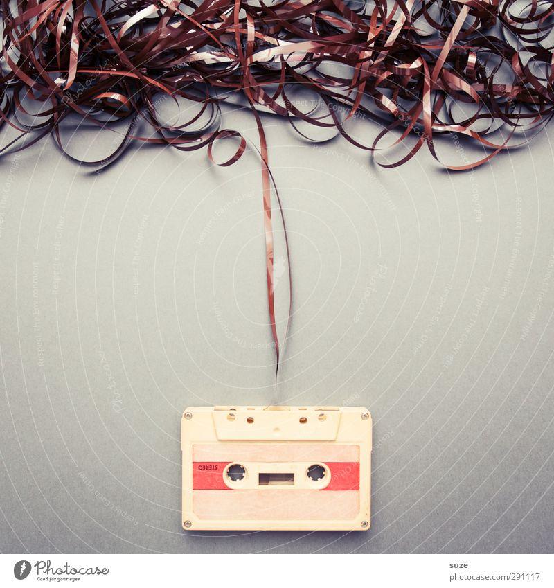 Coverband alt grau klein Stil braun Musik Freizeit & Hobby authentisch Design Lifestyle kaputt einfach retro Kreativität Medien analog