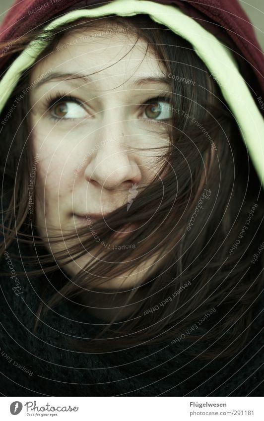 Zukunftsaussichten Mensch Jugendliche schön Freude Erwachsene Junge Frau feminin Gefühle Haare & Frisuren 18-30 Jahre Gesundheit Körper Haut Freizeit & Hobby warten modern