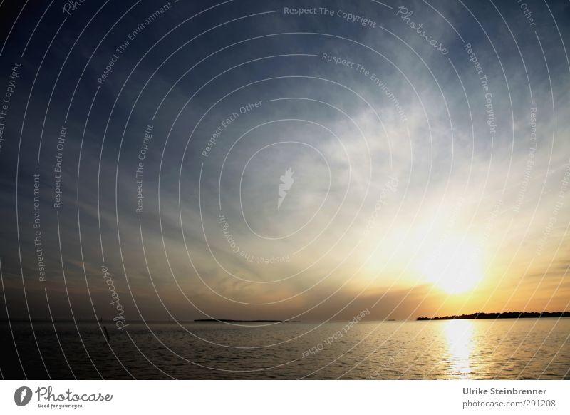 Winterträume Umwelt Natur Landschaft Wasser Himmel Wolken Horizont Frühling Schönes Wetter Wellen Küste Meer Golf von Mexico Insel berühren Feste & Feiern
