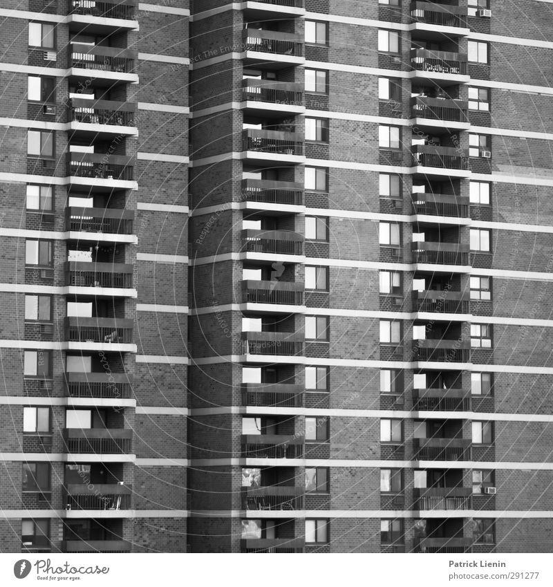 Mach dich frei Stadt Architektur Gebäude Fassade Beginn Bauwerk Balkon