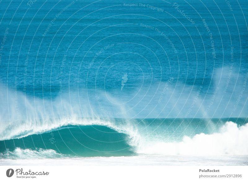 #A# Kawumm! Kunst ästhetisch Wellen Wellengang Wellenform Wellenlänge Wellenlinie Wellenschlag Wellenbruch Meer Wasser Surfen Surfer Surfbrett Surfschule