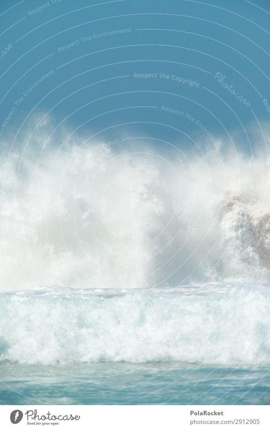 #A# Wasserkraft Umwelt Klima Klimawandel ästhetisch Wasserkraftwerk Wellen Wellengang Wellenschlag Wellenbruch Kraft Meer Farbfoto Gedeckte Farben Außenaufnahme