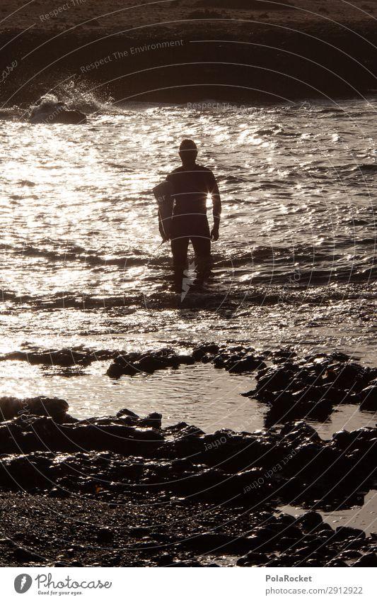 #A# sundown surf Kunst ästhetisch Surfen Surfer Surfbrett Surfschule Fuerteventura Wassersport Extremsport Wellen Wellengang Wellenform Wellenschlag Wellenbruch