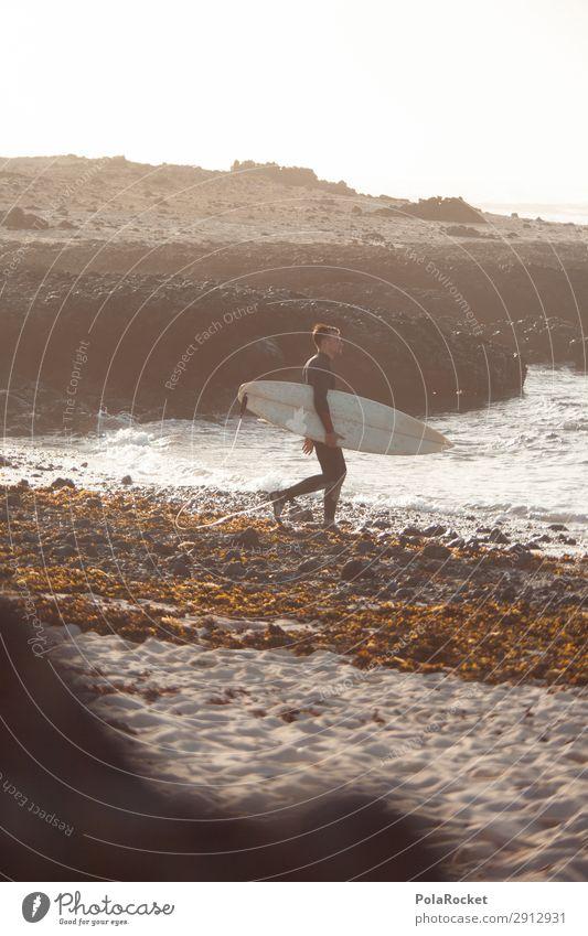#AE# one more Kunst ästhetisch Surfen Surfer Surfbrett Surfschule Meer Wellen Wellengang Wellenform Wellenlinie Wellenschlag Neoprenanzug Farbfoto