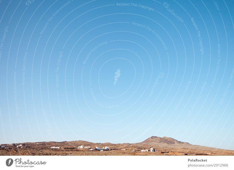 #A# karges Land Sommer Landschaft Umwelt ästhetisch Insel Sommerurlaub Kanaren Landschaftsformen Fuerteventura vulkanisch