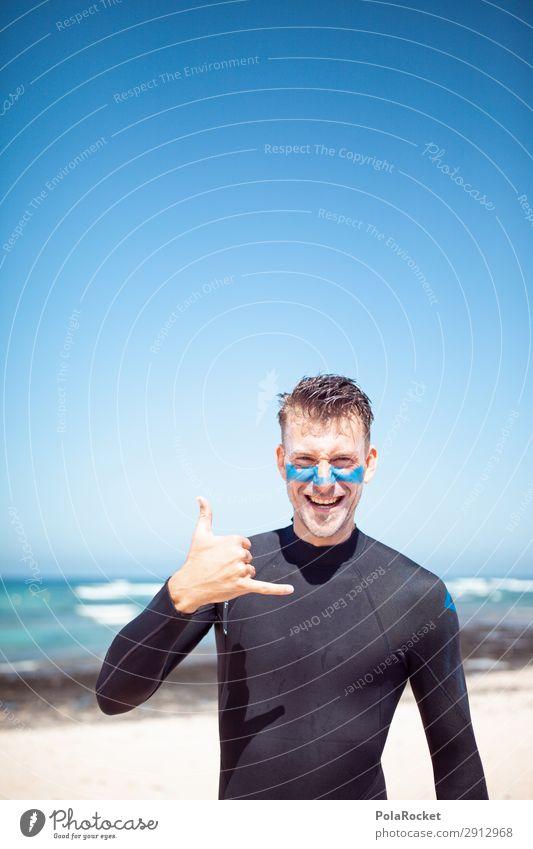 #A# Shaka Sommer Meer Kunst ästhetisch Sommerurlaub Surfen Surfer Surfbrett Surfschule