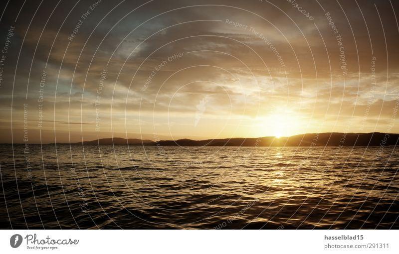 Rückenwind im Atlantik Ferien & Urlaub & Reisen schön Sommer Meer ruhig Erholung Ferne Leben Glück Freiheit Küste Schwimmen & Baden Gesundheit Horizont Wellen