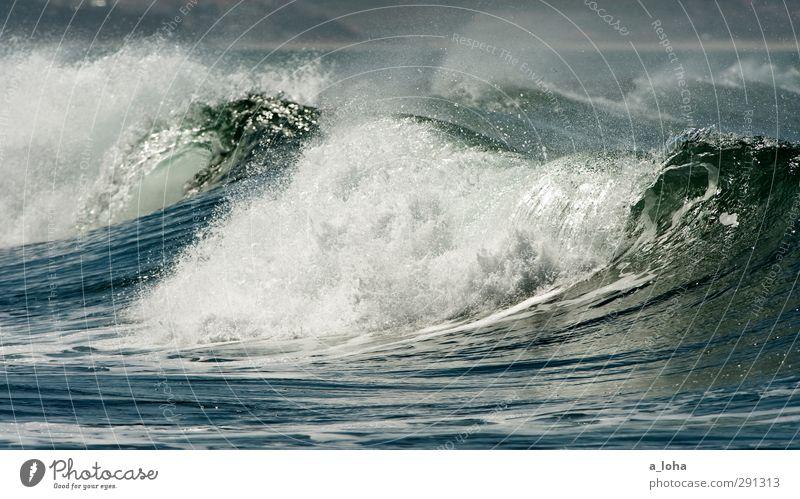 wavegarden Umwelt Natur Landschaft Urelemente Wasser Wassertropfen Sommer Schönes Wetter Wellen Küste Meer Linie Bewegung ästhetisch exotisch gigantisch nass