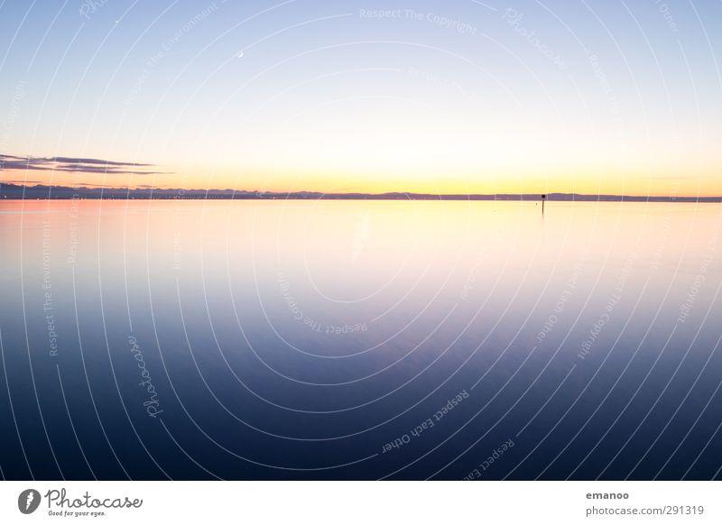 Bodensee Himmel Natur blau Wasser schön Sonne Meer Landschaft Ferne kalt Freiheit Küste See Luft Horizont Wetter