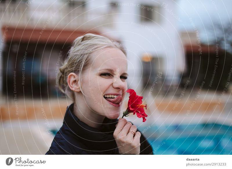 Blume sagt Frühling 2 Freude Leben harmonisch Freizeit & Hobby Spielen Ferien & Urlaub & Reisen Ausflug Abenteuer Freiheit Sommer Sommerurlaub Traumhaus Flirten