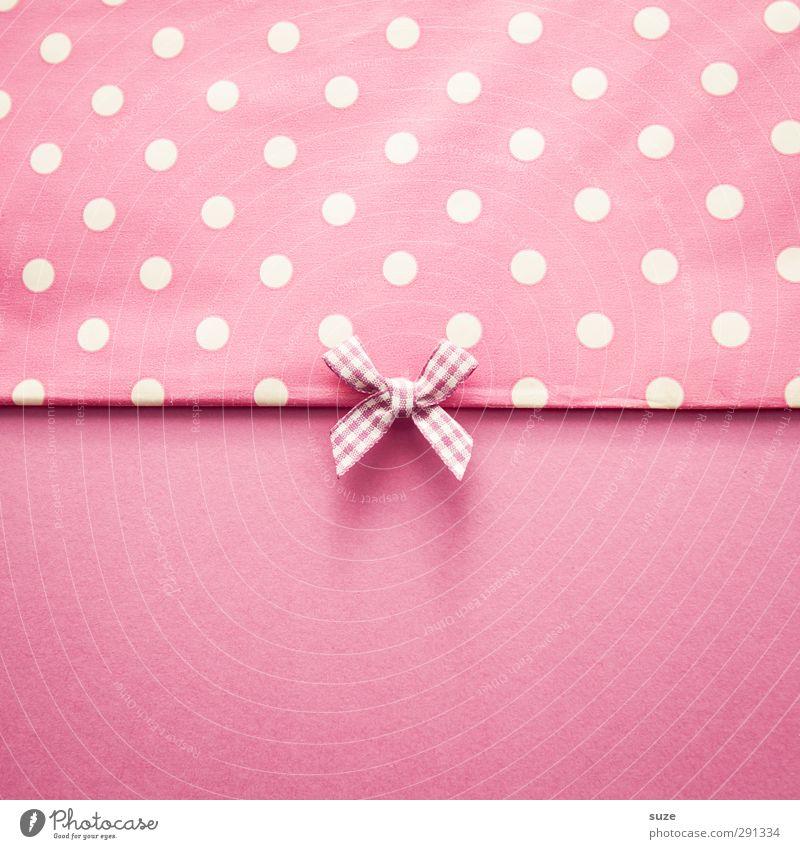 Schickimicki Stil Design Freizeit & Hobby Basteln Handarbeit Dekoration & Verzierung Feste & Feiern Geburtstag feminin Schleife einfach schön Kitsch klein