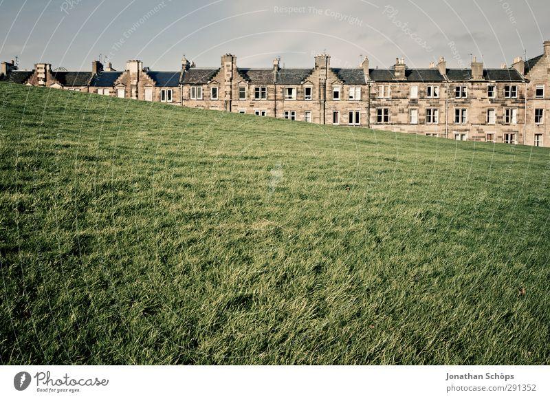 *** 500 *** Wiese Edinburgh Schottland Großbritannien Kleinstadt Stadt Hauptstadt Stadtrand Altstadt Skyline bevölkert Haus Einfamilienhaus Gebäude Architektur