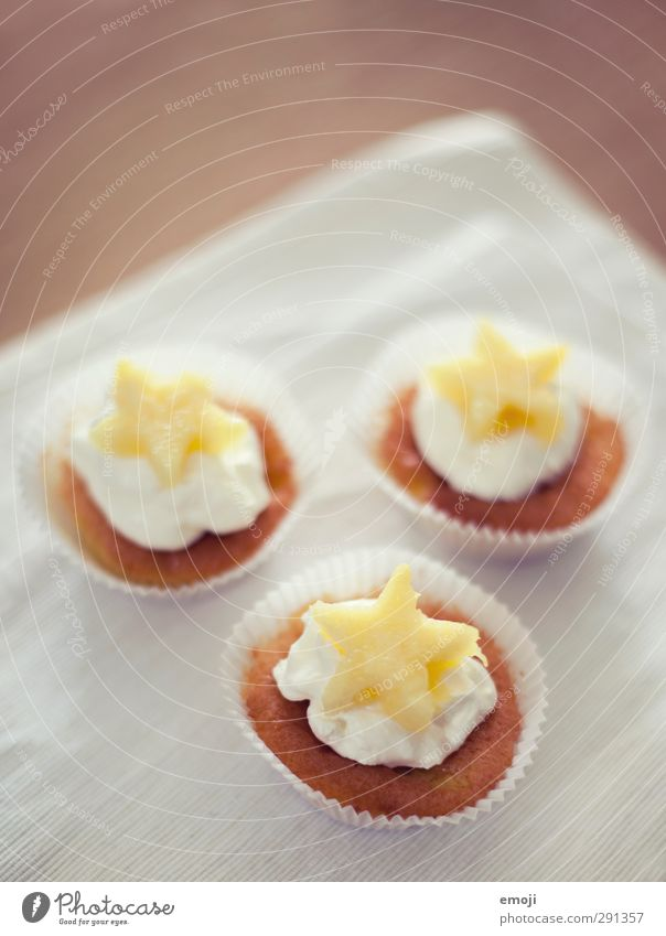 *** Ernährung süß lecker Süßwaren Dessert Muffin Serviette Fingerfood Cupcake