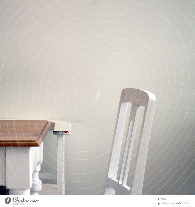 Glück und Selig Wellness Erholung ruhig Möbel Stuhl Tisch Raum Stuhllehne Tischplatte Feste & Feiern Mauer Wand ästhetisch authentisch Freundlichkeit schön