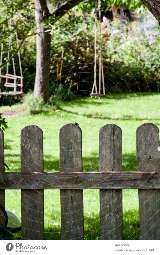 Hinterland grün Freude ruhig Erholung Spielen Freiheit Garten Kindheit Wohnung Freizeit & Hobby Zufriedenheit Fröhlichkeit Häusliches Leben Abenteuer