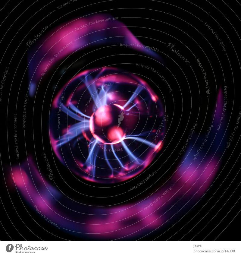plasmalampe II Technik & Technologie Wissenschaften Fortschritt Zukunft leuchten fantastisch heiß Energie plasmakugel Plasma Plasmaglobus Weltall Blitze