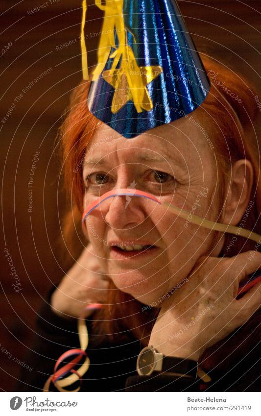 Störfaktor | Die Spaßbremse Mensch blau rot Freude Erholung feminin Feste & Feiern Party Stimmung natürlich Freizeit & Hobby warten beobachten