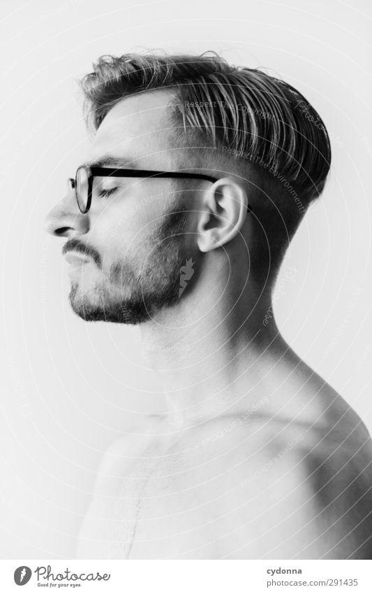 Temporarily Not Available Mensch Mann Jugendliche schön ruhig Erholung Gesicht Erwachsene Junger Mann Leben Haare & Frisuren 18-30 Jahre Stil Gesundheit Zeit träumen