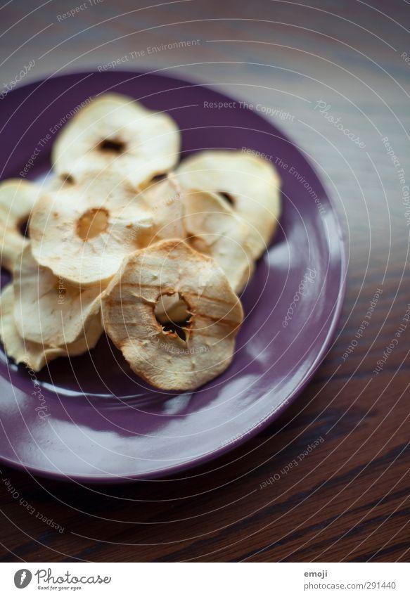 Dörräpfel Gesundheit Frucht Ernährung Apfel lecker Bioprodukte Teller Vegetarische Ernährung Fingerfood Trockenfrüchte