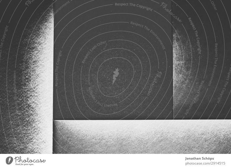 grafisches Hintergrundbild Schwarzweiß Basteln Papier leuchten einfach grau schwarz Quadrat flach Geometrie geradeaus graphisch grell Entwurf minimalistisch