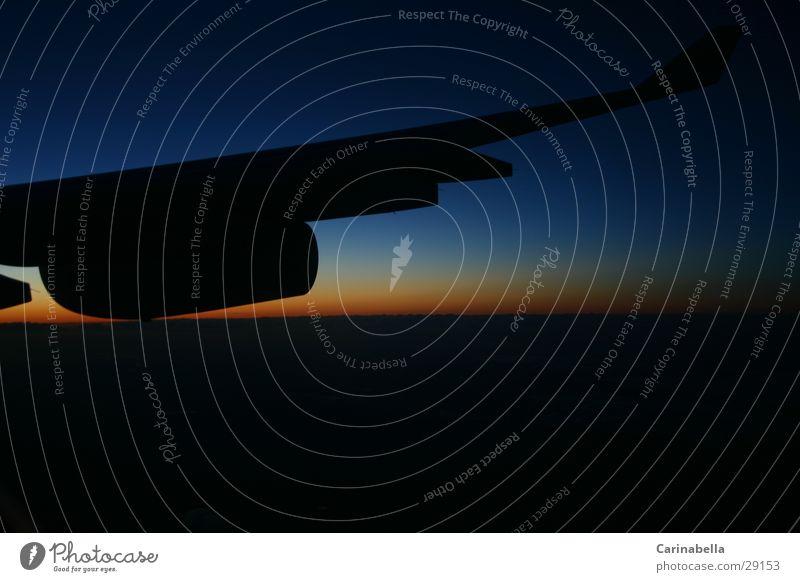 Horizont Luftverkehr Flügel