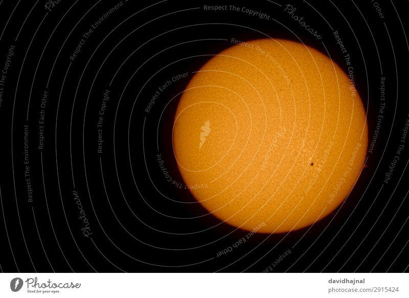 Die Sonne am 15. April 2019 Natur rot Umwelt Frühling Kunst Deutschland orange Europa Energiewirtschaft Technik & Technologie Schönes Wetter Zukunft beobachten