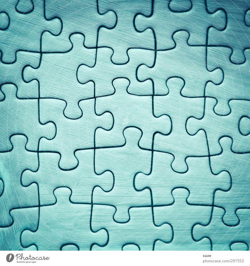 Himmel komplett Freizeit & Hobby Spielen Kinderspiel Spielzeug einfach klein blau Kreativität Problemlösung Ordnung Puzzle Suche Teile u. Stücke Vorderseite