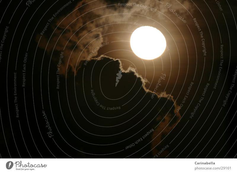 Luna Nacht Wolken Venezuela Mond Abend