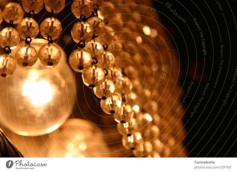 Leuchte Lampe Häusliches Leben Perle Kronleuchter Glasperle