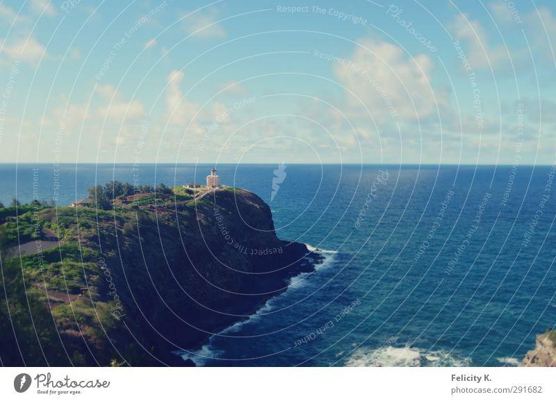 Take a breath Natur Landschaft Pflanze Tier Luft Wasser Himmel Wolken Horizont Sonnenlicht Sommer Schönes Wetter Wärme Hügel Felsen Küste Bucht Meer Kapelle