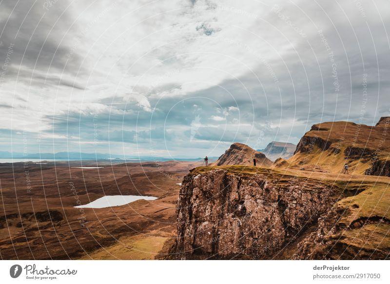 Wanderung über die Isle of Skye VII Panorama (Aussicht) See Küste Seeufer Landschaft Felsen Bucht Schönes Wetter Sommer Tier Pflanze Wellen Umweltschutz Insel