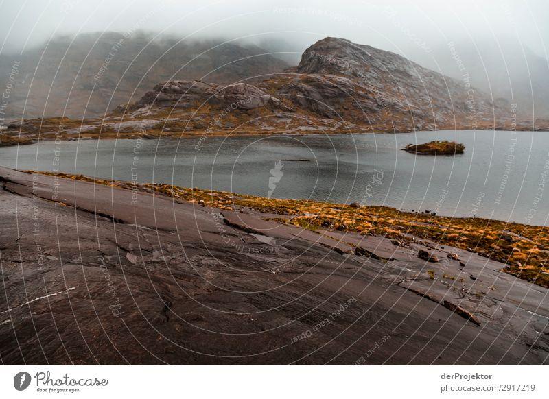 Isle of Skye am Abend Ferien & Urlaub & Reisen Tourismus Ausflug Abenteuer Ferne Freiheit Camping Berge u. Gebirge wandern Umwelt Natur Landschaft Pflanze Tier