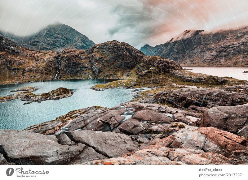 Isle of Skye M MORGEN Ferien & Urlaub & Reisen Natur Pflanze Landschaft Tier Freude Ferne Berge u. Gebirge Umwelt Frühling Küste Tourismus Freiheit Felsen