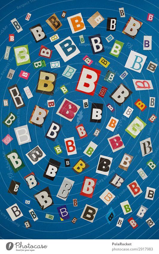 #A# BMIX Kunst Kunstwerk ästhetisch Typographie Buchstaben Buchstabensuppe viele Muster gestalten Kreativität Idee Farbfoto mehrfarbig Innenaufnahme