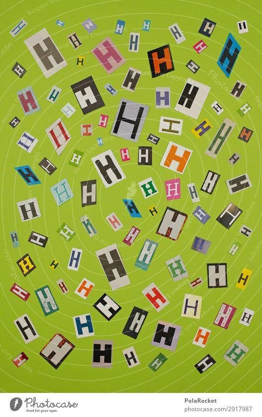 #A# HMIX Kunst Kunstwerk ästhetisch Buchstaben Buchstabensuppe Kreativität Idee Typographie viele Lateinisches Alphabet Farbfoto Gedeckte Farben Innenaufnahme