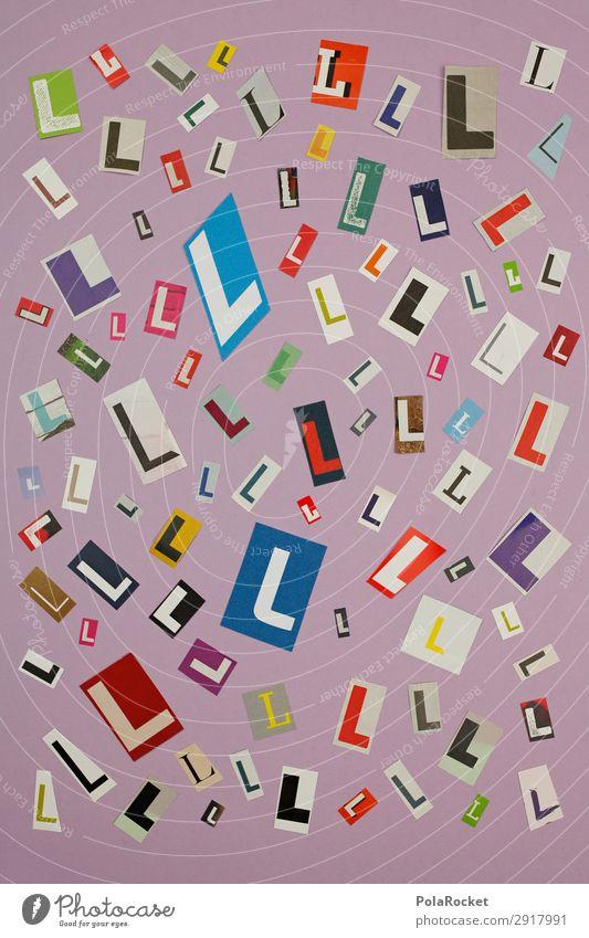 #A# LMIX Kunst Kunstwerk ästhetisch chaotisch l Buchstaben Buchstabensuppe viele Kreativität Idee Design Designwerkstatt Mosaik Farbfoto mehrfarbig