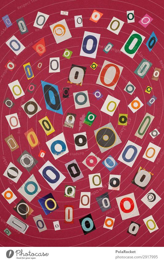 #A# OMIX Kunst Kunstwerk ästhetisch o Buchstaben Buchstabensuppe viele Mosaik Idee Kreativität Lateinisches Alphabet Typographie Farbfoto mehrfarbig