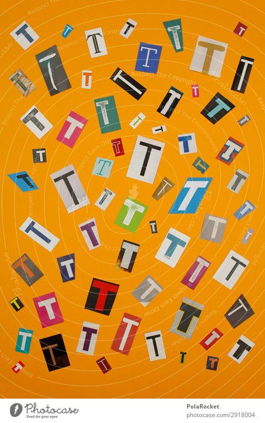 #A# TMIX Kunst Kunstwerk ästhetisch Buchstaben Buchstabensuppe Typographie viele Mosaik Sprache Chatten Farbfoto mehrfarbig Innenaufnahme Studioaufnahme