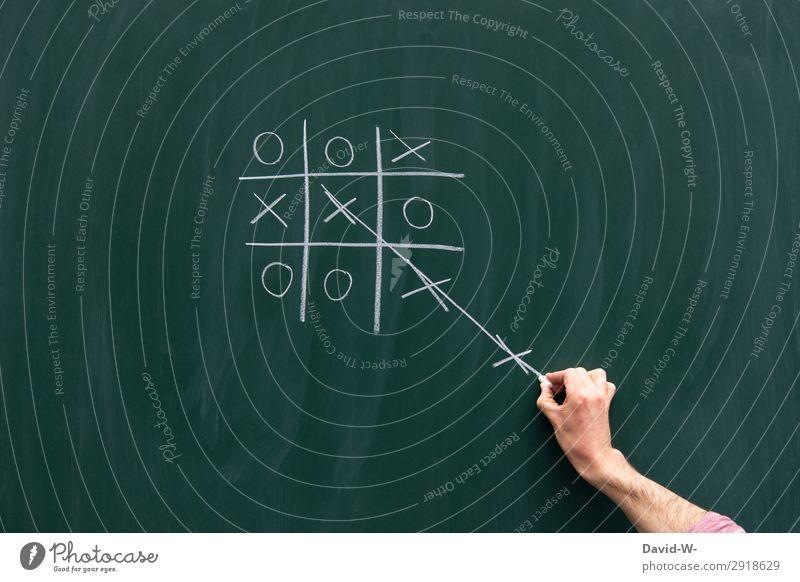 nichts ist unmöglich Spielen Bildung Schule lernen Tafel Prüfung & Examen Business Karriere Erfolg Mensch maskulin Leben Hand Finger Kunst Künstler
