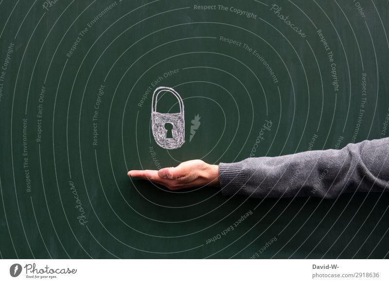 Sicherheit Lifestyle elegant Stil Design Geld Börse Geldinstitut Business Mensch maskulin Arme Hand Finger 1 Kunst Künstler Misstrauen bedrohlich geheimnisvoll