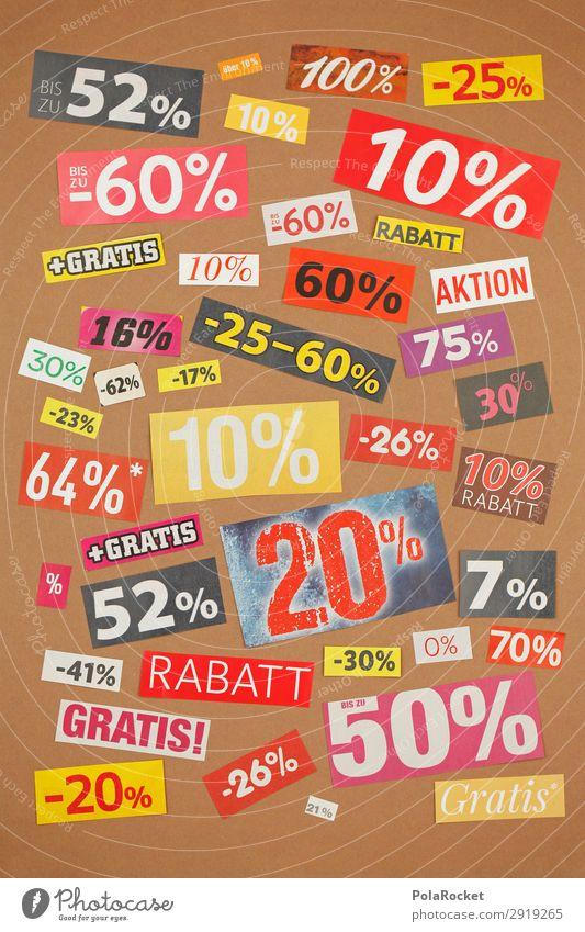 #A# discount Kunst ästhetisch Bonus Preisreduzierung Konsum konsumgeil % Prozentzeichen kaufen viele Konsumgesellschaft ködern minus kostenlos Werbung