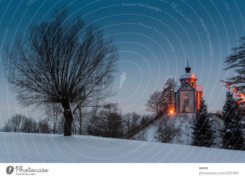 Burgstallkapelle Natur Landschaft Erholung Schnee Architektur Gebäude Kunst wandern Kirche Kultur Bauwerk Denkmal Abenddämmerung Tradition Nachthimmel