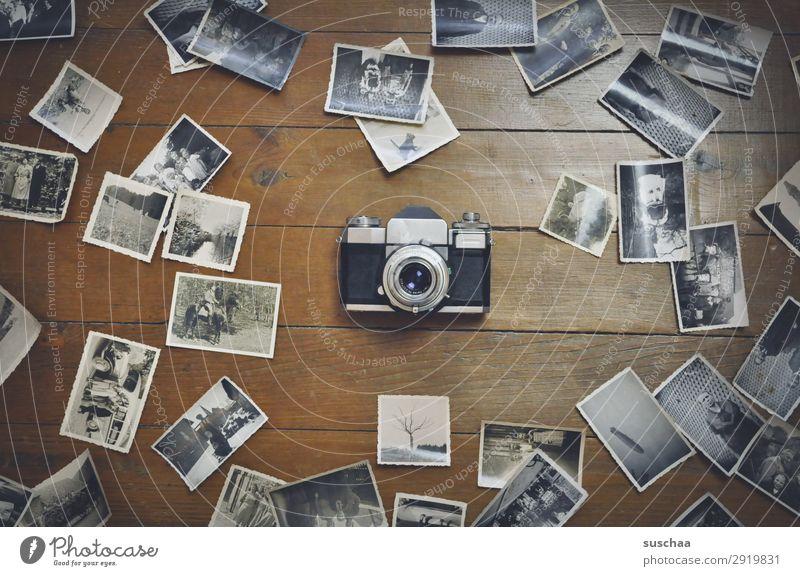 alte fotos Fotografie negativ Schwarzweißfoto Fotografieren analog Erinnerung Nostalgie Trauer Familienalbum Vergangenheit Vergänglichkeit Kindheit