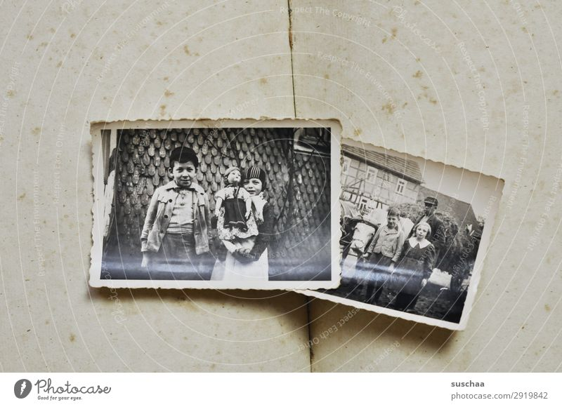familienalbum Fotografie Fotografieren alt analog Erinnerung Nostalgie Trauer Familienalbum Vergangenheit Vergänglichkeit Kindheit Erbe bewahren verlieren