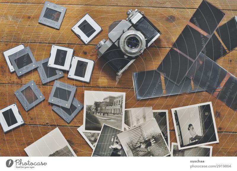 fotos machen Fotografie Dia negativ Fotokamera Schwarzweißfoto Fotografieren alt analog Erinnerung Nostalgie Trauer Familienalbum Vergangenheit Vergänglichkeit