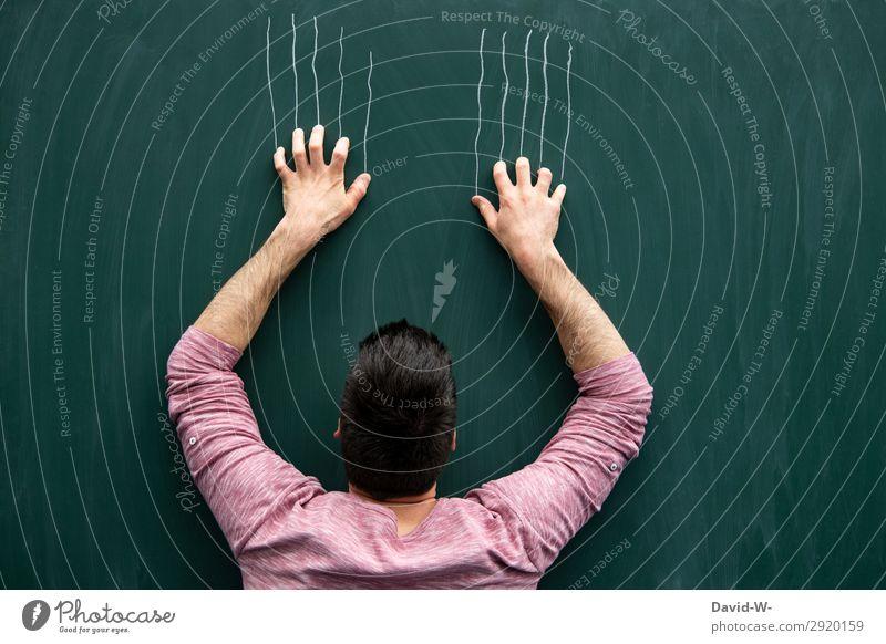 Fingerspitzengefühl | ...nicht die schönsten Gefühle elegant Stil Bildung Erwachsenenbildung Schule lernen Klassenraum Tafel Studium Student Prüfung & Examen