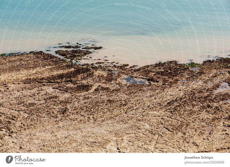 Strand bei den Seven Sisters, England Ferien & Urlaub & Reisen Natur Sommer Wasser weiß Landschaft Meer Küste Tourismus Felsen wandern Großbritannien