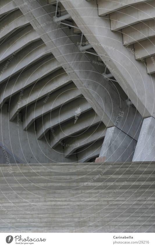 Betonisiert Architektur grau Treppe Eingang Kanton Bern