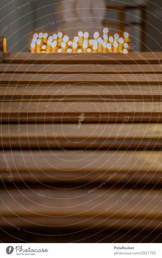 #A# House of Gods Kunst Kunstwerk ästhetisch Kirche Religion & Glaube Kirchentag Kirchenbank Kerze Farbfoto Gedeckte Farben Innenaufnahme Detailaufnahme